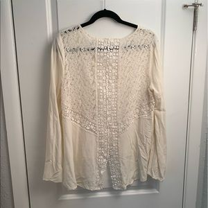 Long Sleeve with Lace Detail